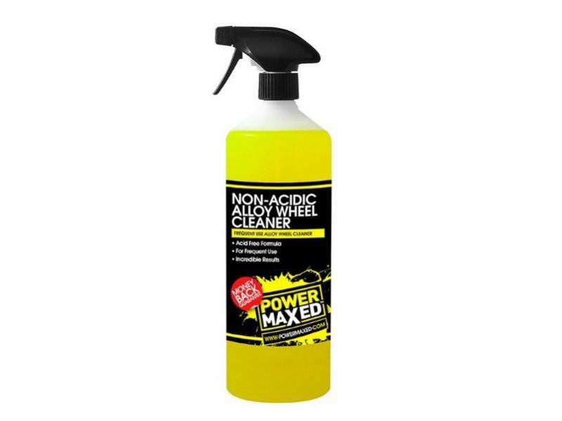 Power Maxed Non Acidic Alloy Wheel Cleaner Frequent Use
